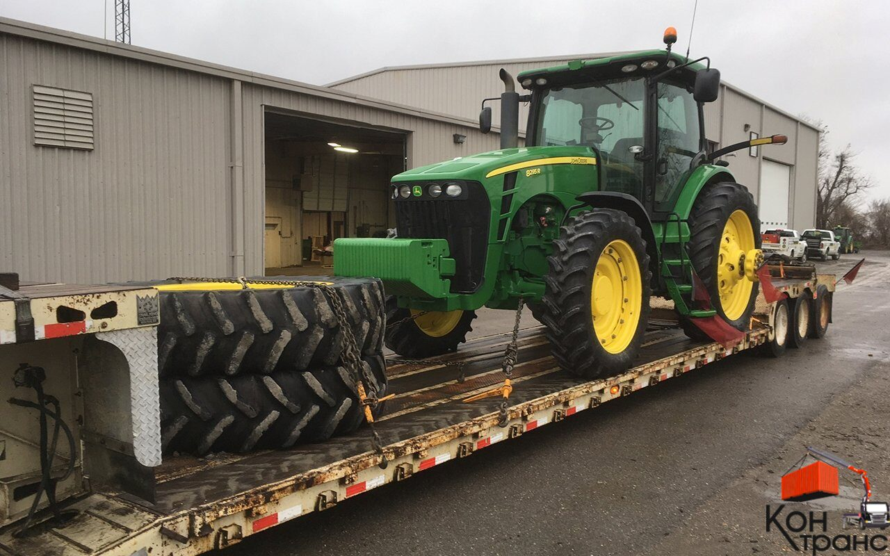 Чем перевезти трактор