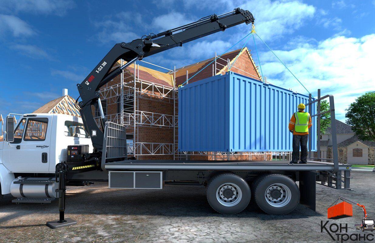 Как перевозят контейнеры 20 футов